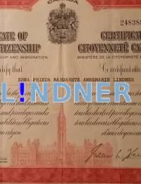 Canadian Citizenship Certificate